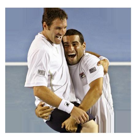 אנדיוני זוג הטניס הכי מצליח בתולדות ישראל