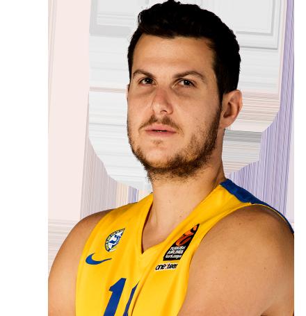 גיא פניני כדורסלן בנבחרת ישראל והפועל חולון