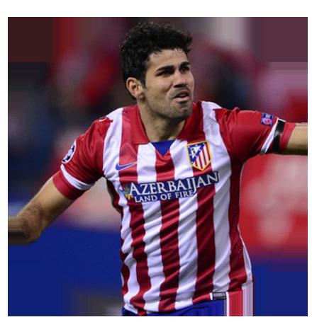 דייגו קוסטה חלוץ נבחרת ספרד בכדורגל