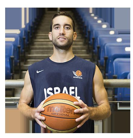 יוגב אוחיון כדורסלן בנבחרת ישראל והפועל ירושלים